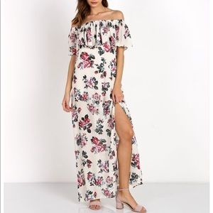 Roe + May Brooks Maxi Vintage Floral